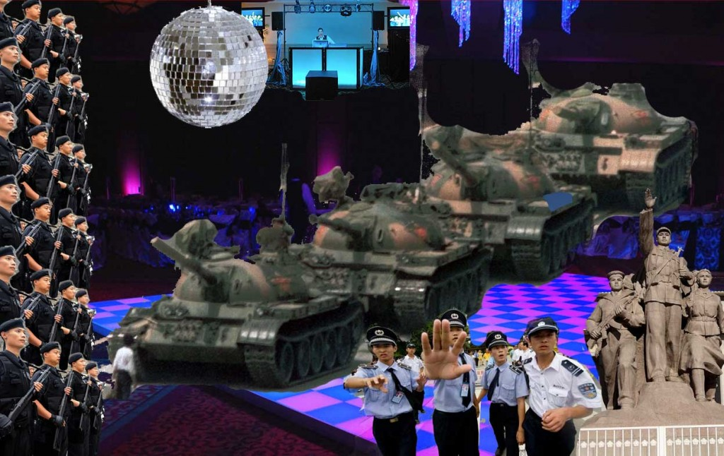 Beijing security forces shake down at the 25th annual ball