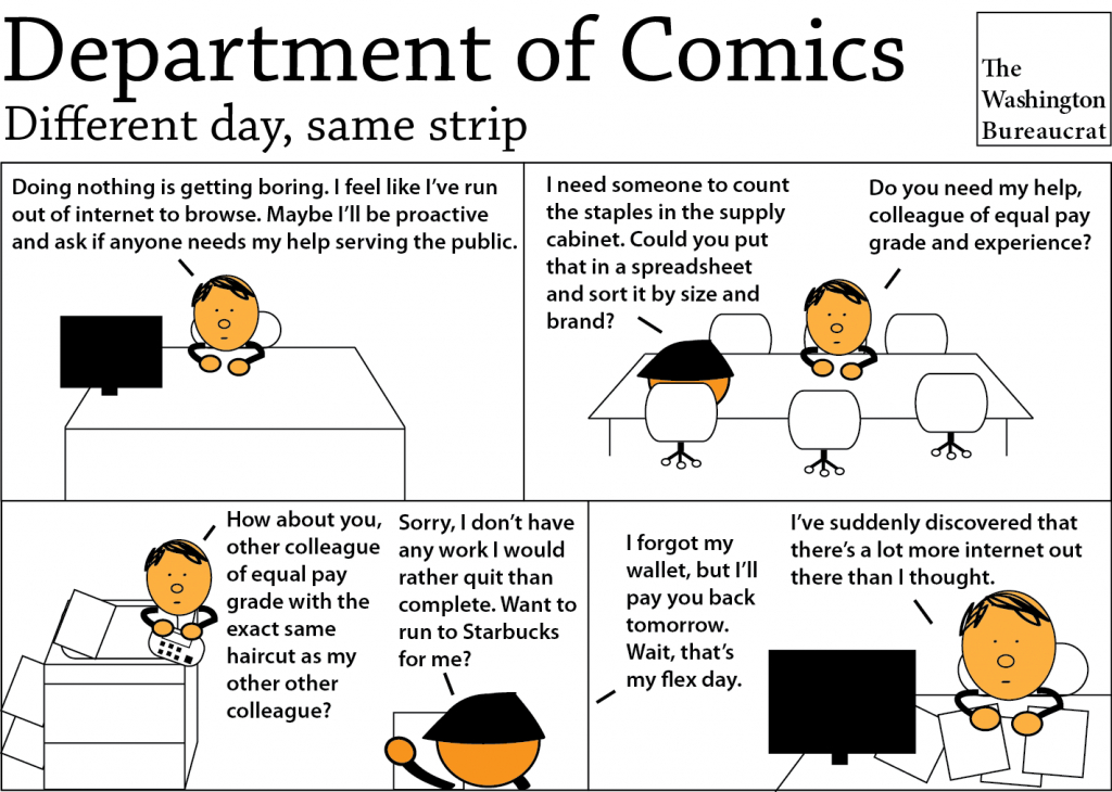 Comic about what happens when you show initiative