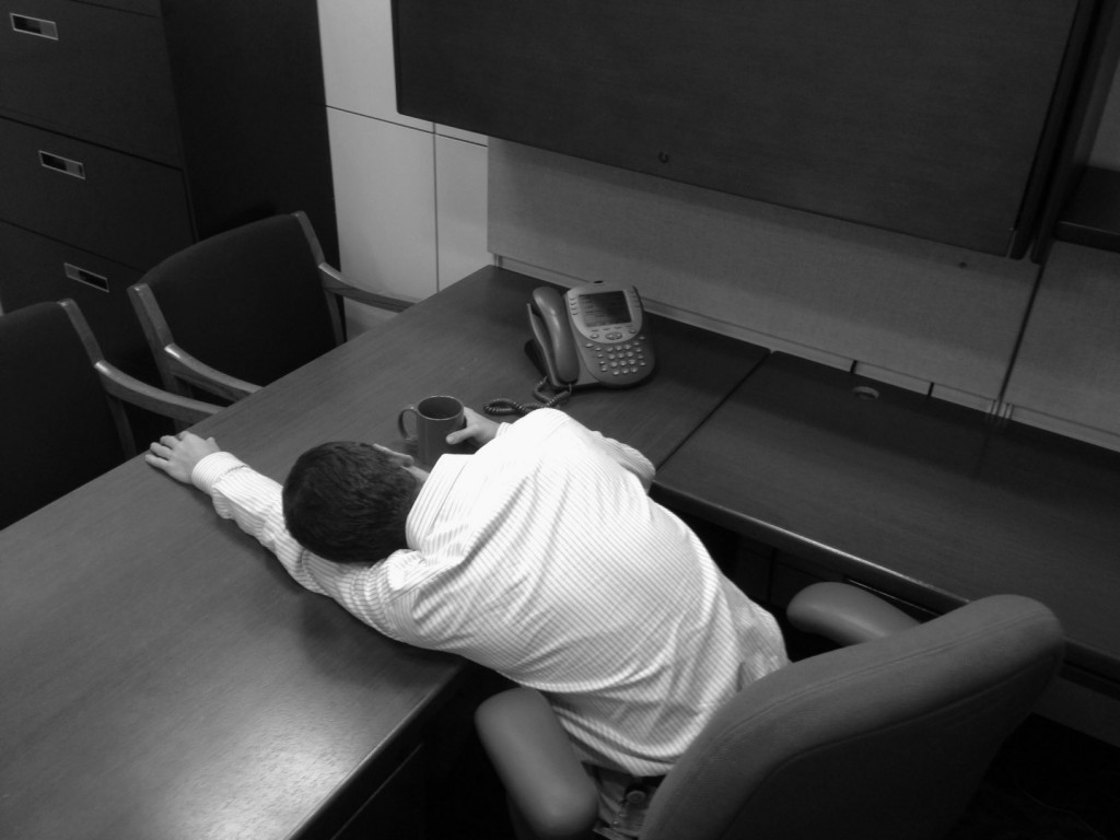 A dedicated civil servant keeps his head down but reaches for the stars.